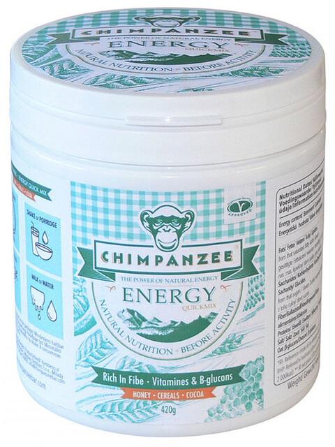 Chimpanzee Energy Quick Mix Dose 420g Honig & Getreide & Kakao